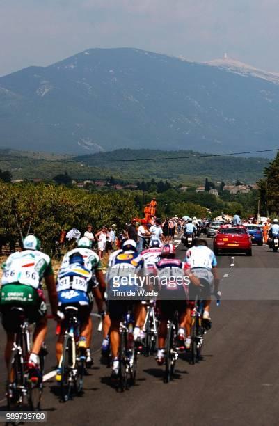 Tdf 2002, Stage 14, Illustration, Illustratie, Mont Ventoux, Landschap, Landscape, Paysage, Tour De France, Ronde Van Frankrijk, Lodeve - Mont...