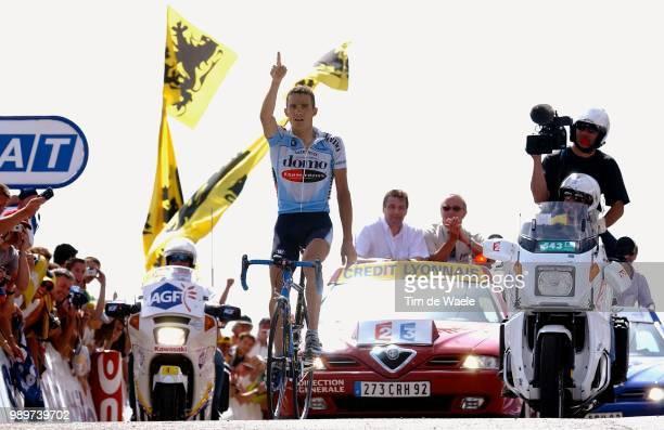 Tdf 2002, Stage 14, Virenque Richard, Joie, Vreugde, Celebration, Victory, Arriver, Arrival, Aankomst, Tour De France, Ronde Van Frankrijk, Lodeve -...