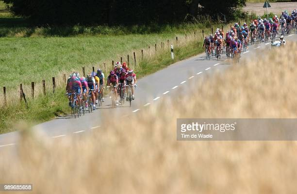 Tdf 2002 - Stage 2 /Illustration, Illustratie, Paysage, Landscape, Landschap, Peloton, Ontsnapping, Breakaway, Echape, Tour De France, Ronde Van...