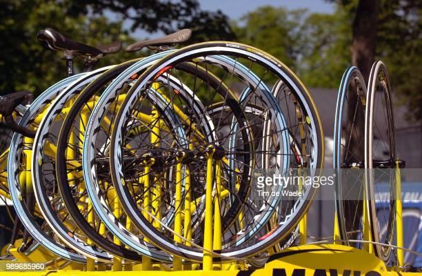 Tdf 2002 - Stage 2 /Roue, Wiel, Wheel, Illustration, Illustratie /89 Ieme, Ronde Van Frankrijk, Luxembourg - Sarrebruck, Tour De France,
