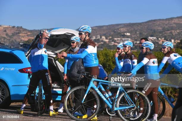 Team AG2R La Mondiale 2018 Alex Domont / Cyril Gautier / Rudy Barbier / Team AG2R La Mondiale /