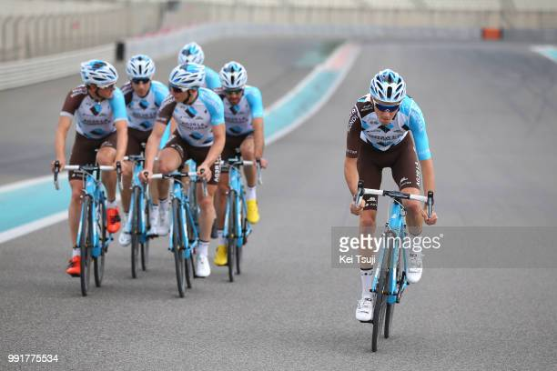 Team Ag2R La Mondiale Trainingteam Ag2R La Mondiale / Romain Bardet / Axel Domont / Mathias Frank / Ben Gastauer / Cyril Gautier / Christophe Riblon...
