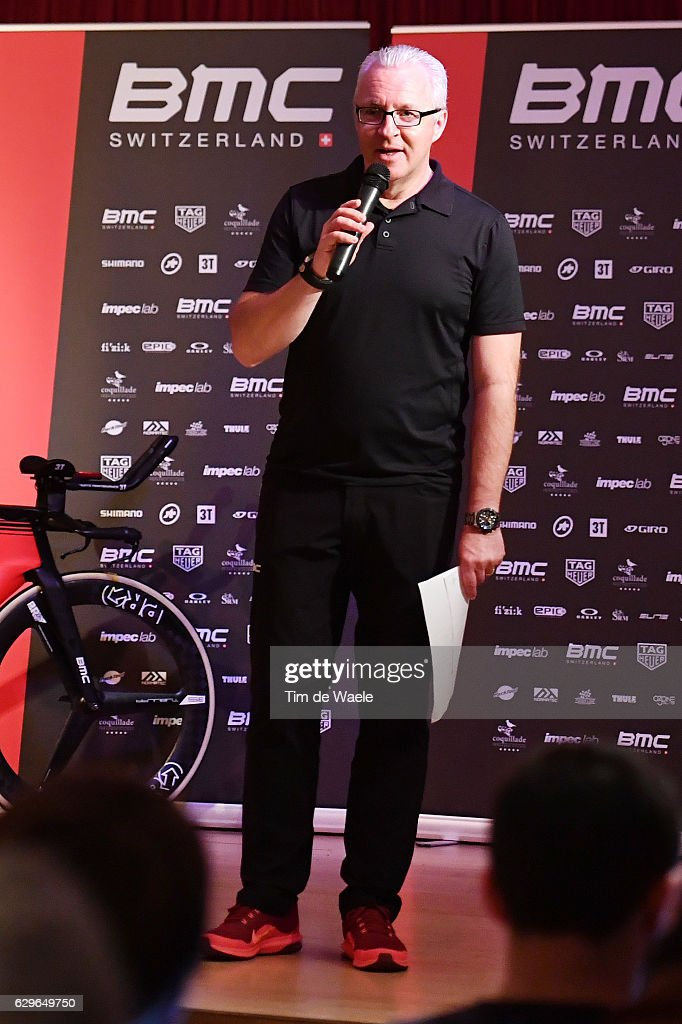 Team BMC Racing Team 2017 Georges LUCHINGER (SUI) Press Officer/ Mediaday / Team BMC (Usa)/ ©Tim De Waele