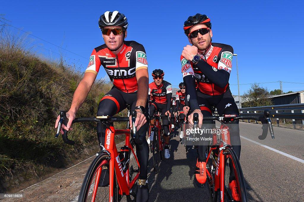 Team BMC Racing Team 2017 Greg VAN AVERMAET (BEL) / Danilo WYSS (SUI) / Team BMC (Usa)/ ©Tim De Waele