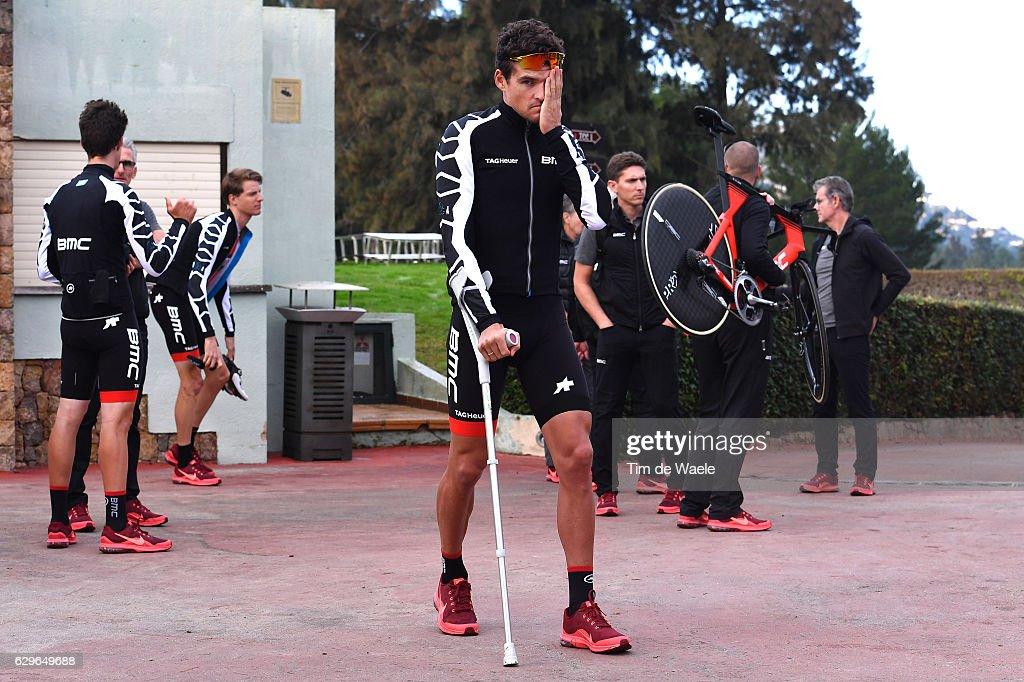 Team BMC Racing Team 2017 Greg VAN AVERMAET (BEL) / Injury / Mediaday / Team BMC (Usa)/ ©Tim De Waele