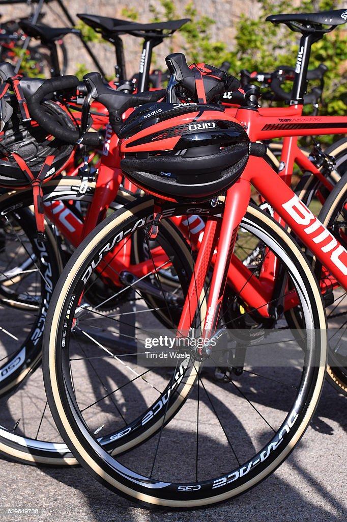 Team BMC Racing Team 2017 Illustration / Bike BMC / Giro Helmet / Mediaday / Team BMC (Usa)/ ©Tim De Waele