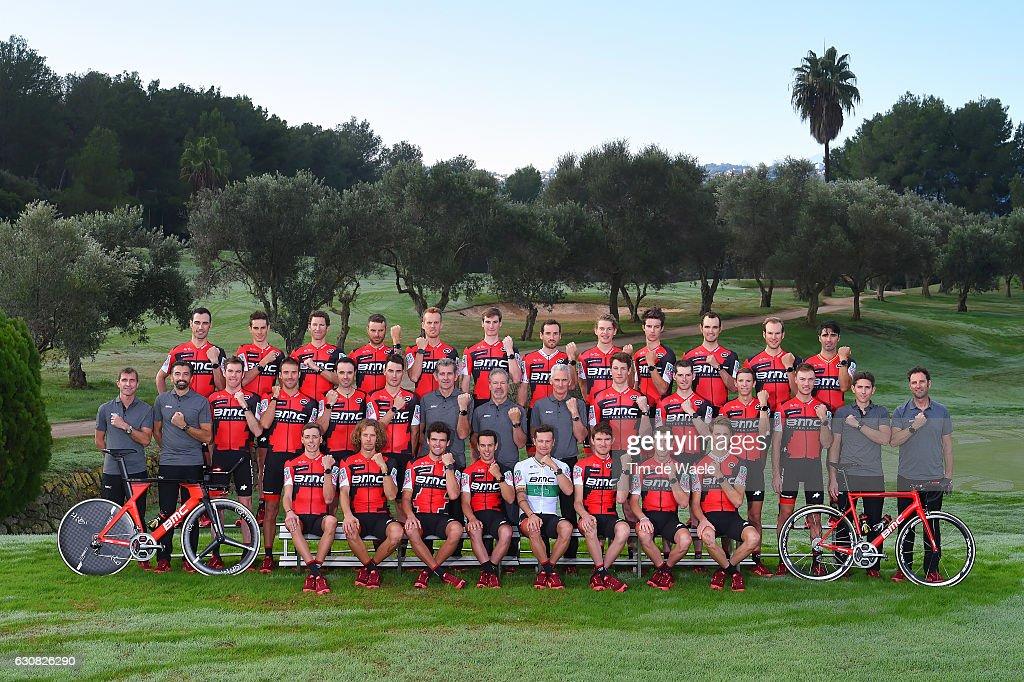 Team BMC Racing Team 2017 Manuel QUINZIATO (ITA)/ Manuel SENNI (ITA)/ Martin ELMIGER (SUI)/ Damiano CARUSO (ITA)/ Alessandro DE MARCHI (ITA)/ Tom BOHLI (SUI)/ Danilo WYSS (SUI)/ Floris GERTS (NED)/ Miles SCOTSON (AUS)/ Joey ROSSKOPF (USA)/ Jempy DRUCKER (LUX)/ Francisco VENTOSO (ESP)/ Yvon LEDANOIS (FRA) Sportsdirector/ Fabio BALDATO (ITA) Sportsdirector/ Brent BOOKWALTER (USA)/ Amael MOINARD (FRA)/ Samuel SANCHEZ (ESP)/ Stefan KUNG (SUI)/ Valerio PIVA (ITA) Sportsdirector/ Jim OCHOWICZ (USA) President Team Manager / Allan PEIPER (AUS) Sporting Manager/ Silvan DILLIER (SUI)/ Ben HERMANS (BEL)/ Dylan THEUNS (BEL)/ Loic VLIEGEN (BEL)/ Jackson STEWART (USA) Sportsdirector / Max SCIANDRI (GBR)/ Tom BOHLI (SUI)/ Daniel OSS (ITA)/ Greg VAN AVERMAET (BEL)/ Richie PORTE (AUS)/ Nicholas ROCHE (IRL)/ Tejay VAN GARDEREN (USA)/ Rohan DENNIS (AUS)/ Michael SCHAR (SUI)/ Mediaday / Team BMC (Usa)/ ©Tim De Waele