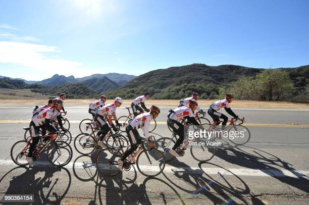 Team Csc Training Camp Californiacarlos Sastre Chris Anker Sorensen Stuart O'Grady Matti Breschel Fabian Cancellara Matthew Goss Illustration...