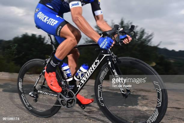 Team Etixx QuickStep 2016Illustration Illustratie Specialized Bike Velo Fiets Martinelli Davide / Equipe Ploeg /Tim De Waele