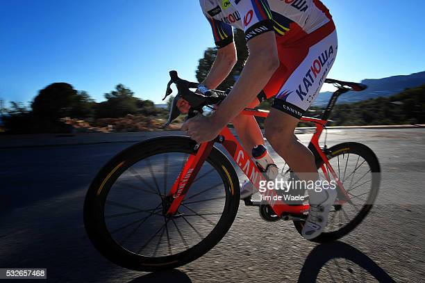 Team Katusha 2015 Illustration Illustratie / Canyon Bike Velo Fiets / SELIG Rudiger / Training Camp Entrainement / Equipe Ploeg /Tim De Waele