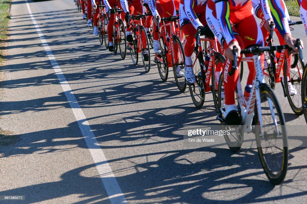 Cycling: Team Katusha 2015 : News Photo