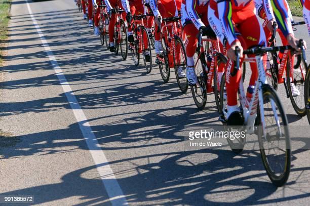 Team Katusha 2015 Illustration Illustratie, Peleton Peloton, Team Katusha / Shadow Hombre Schaduw, Training Camp Entrainement, Equipe Ploeg /Tim De...