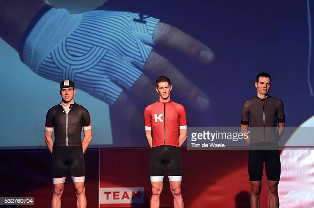 Team Katusha 2016 / Team Presentation Anton VOROBYEV / Jurgen VAN DEN BROECK / Rein TAARAMAE / Casual Clothing Katusha Sport / Presentation Equipe...
