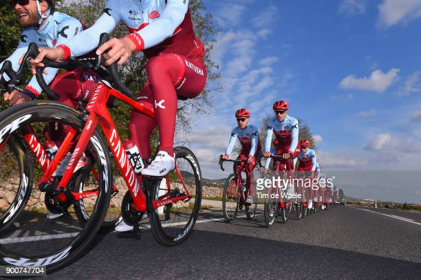 Team Katusha Alpecin 2018 Marcel KITTEL / Canyon bike / Tony MARTIN / Reto HOLLENSTEIN / Team Katusha Alpecin /