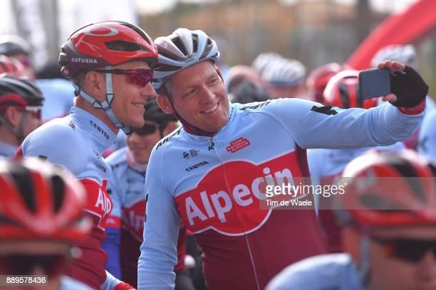 Team Katusha Alpecin 2018 Marcel KITTEL / Eduard R DORRENBERG Managing Partner Alpecin company / Sponsor Ride / Selfie / Team Katusha Alpecin / ©Tim...