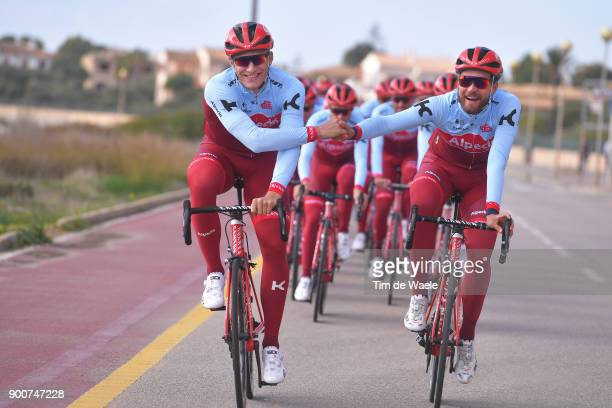 Team Katusha Alpecin 2018 Marcel KITTEL / Rick ZABEL / Celebration / Team Katusha Alpecin /