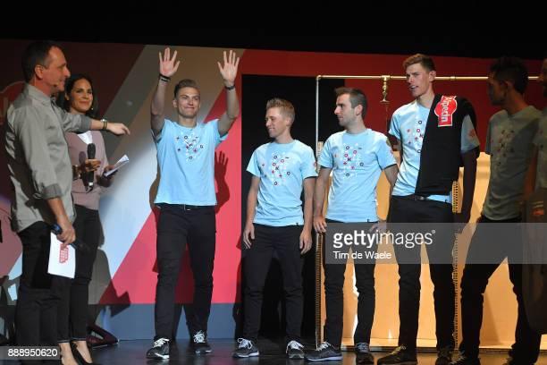 Team Katusha Alpecin 2018 / Team Presentation Marcel KITTEL / Maurits LAMMERTINK / Baptiste PLANCKAERT / Nils POLITT / Philippe MAERTENS Press...