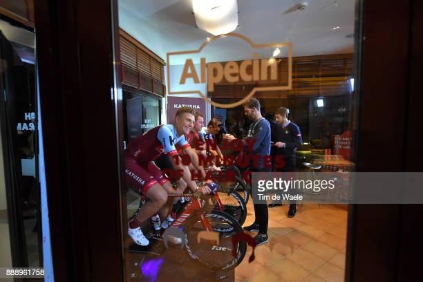 Team Katusha Alpecin 2018 / Team Presentation Marcel KITTEL / Alpecin Hair Care / Team Katusha Alpecin / Team Presentation /