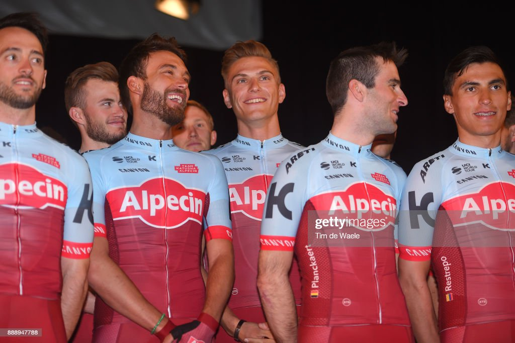 Cycling: Team Katusha Alpecin 2018 / Team Presentation : ニュース写真