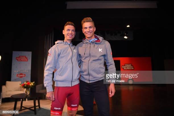 Team Katusha Alpecin 2018 / Team Presentation Tony MARTIN / Marcel KITTEL / Team Katusha Alpecin / Team Presentation /