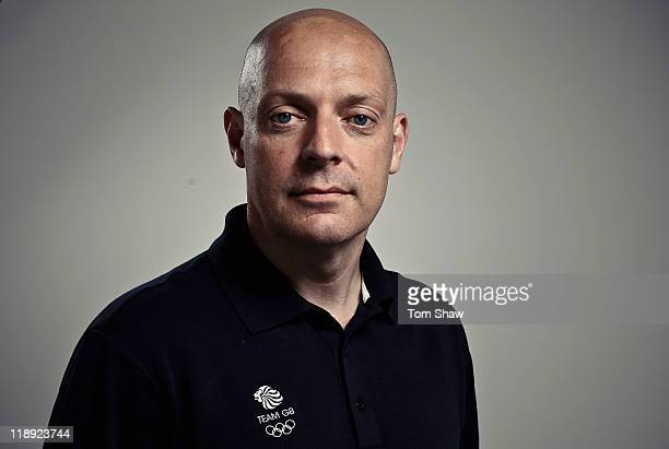 Cycling Team Leader Dave Brailsford poses for a picture during the British Olympic Association Media Briefing at Westfield Stratford City on July 12,...