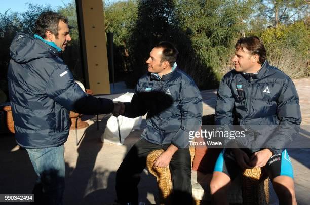 Team Milram 2008 Andrea Agostini Pr Press Erik Zabel Alessandro Petacchi /Equipe Ploeg Tim De Waele