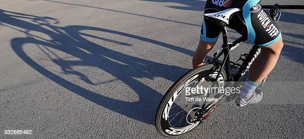 Team Omega Pharma - Quick Step 2012 Illustration Illustratie / Shadow Hombre Schaduw / VERMOTE Julien / OPQ / Equipe Ploeg /Tim De Waele