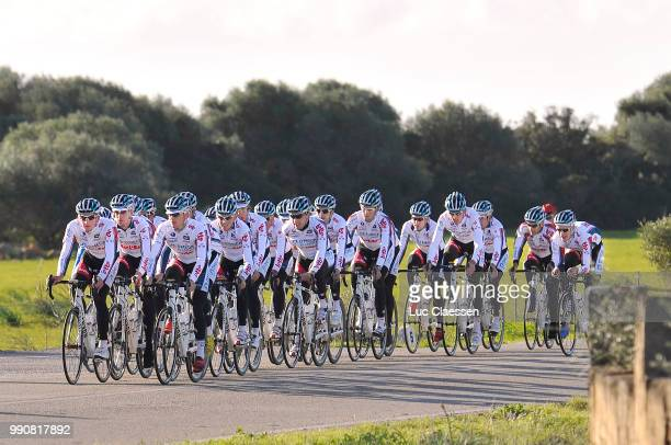 Team Omega Pharma-Lotto Training 2010Illustration Illustratie, Jurgen Van Den Broeck , Landscape Paysage Landschap, Entrainement, Equipe Ploeg, Tim...