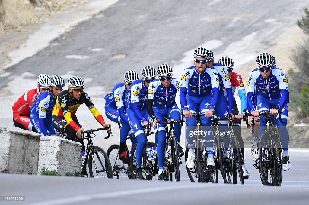 Cycling: Team Quick-Step Floors 2017 / Training Camp : News Photo