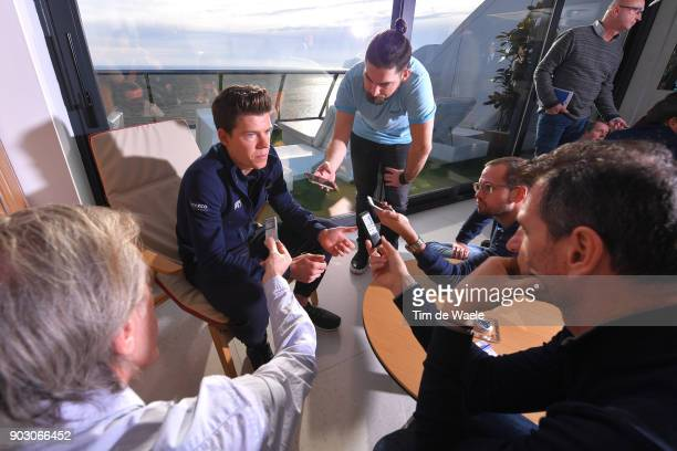 Team QuickStep Floors 2018 / Media Day Bob Jungels / Interview / Team QuickStep Floors / Media Day /