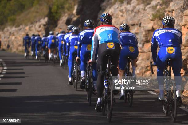 Team QuickStep Floors 2018 / Media Day Bob Jungels / Peloton / Lidl / Landscape / Team QuickStep Floors / Media Day /