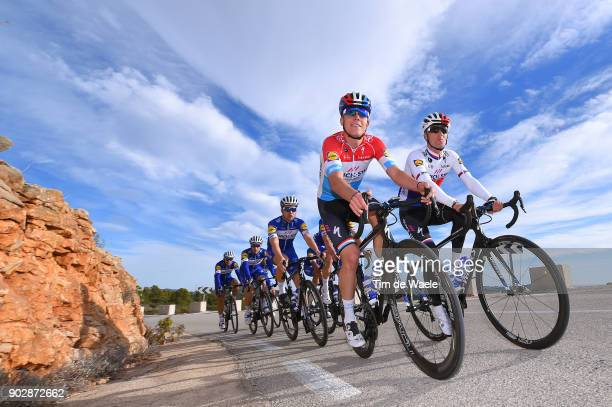 Team QuickStep Floors 2018 / Media Day Bob Jungels / Zdenek Stybar / Team QuickStep Floors / Media Day /