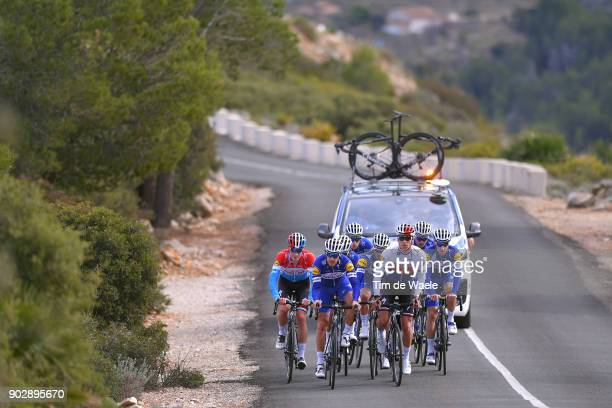 Team QuickStep Floors 2018 / Media Day Philippe Gilbert / Zdenek Stybar / Bob Jungels / Julian Alaphilippe / Elia Viviani / Team QuickStep Floors /...