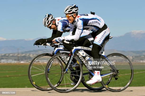 Team Saxo Bank California Training Campalexandr Kolobnev /Equipe Ploeg Tim De Waele