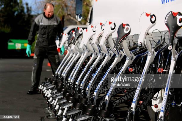 Team Saxo Bank California Training Campillustration Illustratie Specialized Bikes Velo Fiets Prologo Seadle Selle Zadel Equipe Ploeg Tim De Waele