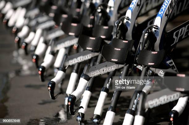 Team Saxo Bank California Training Campillustration Illustratie Specialized Bikes Velo Fiets Equipe Ploeg Tim De Waele