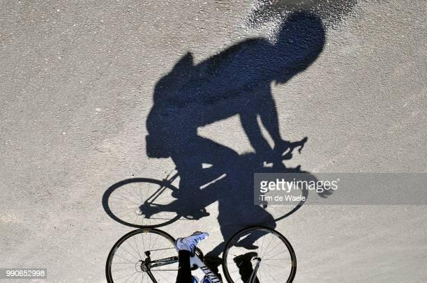 Team Saxo Bank, California Training Campillustration Illustratie, Shadow Hombre Schaduw, Fabian Cancellara , Equipe Ploeg, Tim De Waele