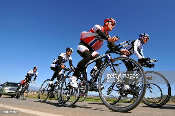 Team Saxo Bank California Training CampkurtAsle Arvesen Stuart O'Grady /Equipe Ploeg Tim De Waele