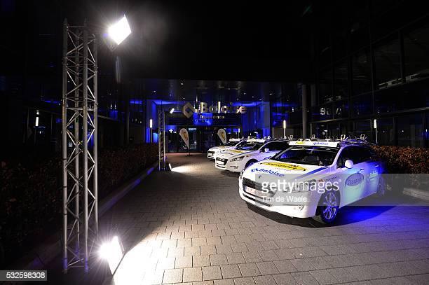 Team Topsport Vlaanderen - Baloise 2014 Presentation Illustration Illustratie / Car Voiture Auto / Peugeot / Presentation Equipe Ploegenpresentatie /...