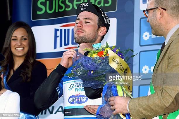 Tirreno Adriatico 2014/ Stage 1 Podium/ Mark CAVENDISH Blue Leader Jersey/ Celebration Joie Vreugde/ DonoraticoSan Vicenzo / TTT/ Etape Rit Tirreno...