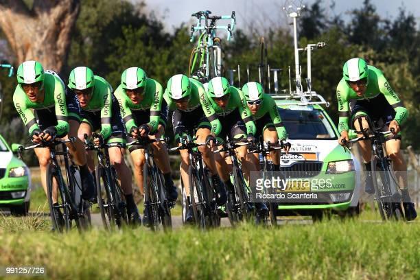 Tirreno Adriatico 2014/ Stage 1Team Belkin Pro Cycling/ Robert Gesink / Marc Goos / Tom Leezer / Bauke Mollema / Bram Tankink / Maarten Tjallingii /...