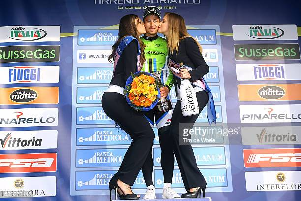 Tirreno Adriatico 2014/ Stage 3 Podium/ Peter SAGAN / Celebration Joie Vreugde/ CascinaArezzo / Etape Rit Tirreno Adriatico Tim De Waele