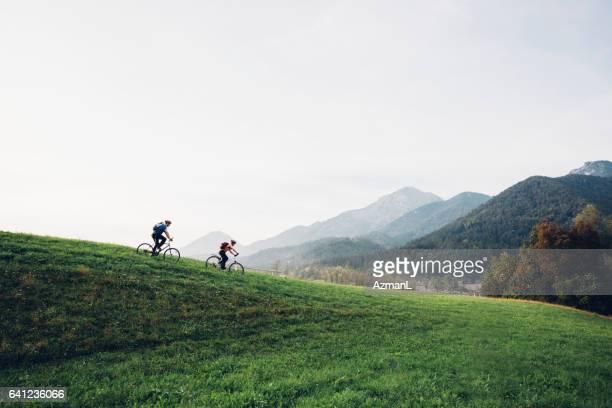 Zusammen Radfahren ist unsere Leidenschaft