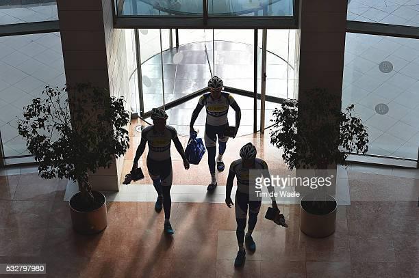 Topsport Vlaanderen Baloise 2016 VAN ROOY Kenneth / VANSPEYBROUCK Pieter / POLS Ruben / Silhouet / Training Entrainement / Equipe Ploeg /Tim De Waele