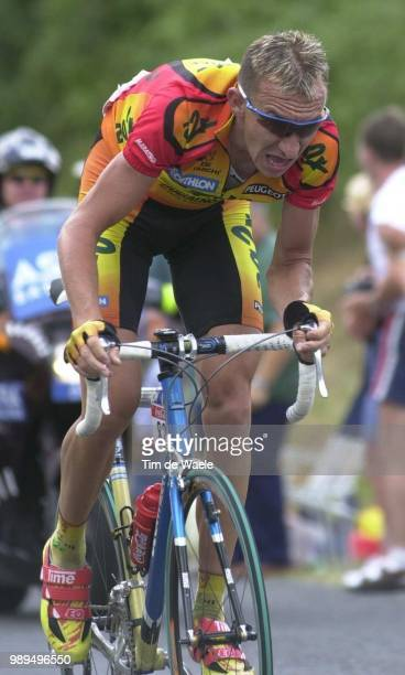 Cycling Tour De France 2000Agnolutto Christophe Cyclisme Wielrennencycling Tdf Iso Sport Tour De France2000 Tour De France Tdf 2000 Rondevan...