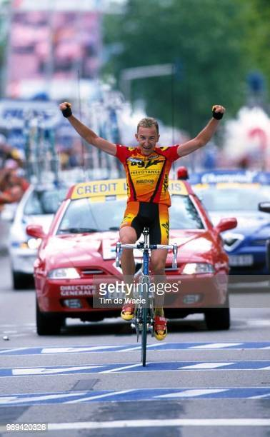 Cycling Tour De France 2000Agnolutto Christophe Joie Vreugdevictoire Cyclisme Wielrennen Cycling Tdfiso Sport Tour De France 2000 Tour Defrance Tdf...