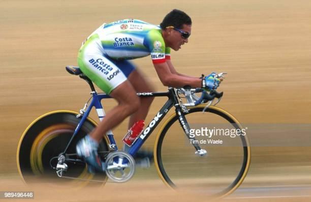 Cycling Tour De France 2000Contreras Carlos Albe Prologue Etape 1Futuroscope Cyclisme Wielrennen Cyclingtdf Iso Sport Tour De France 2000Tour De...