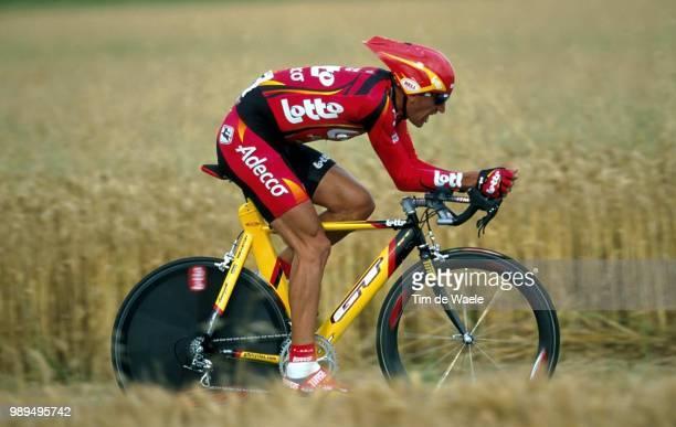 Cycling Tour De France 2000Durand Jacky Prologue Etape 1Futuroscope Cyclisme Wielrennen Cyclingtdf Iso Sport Tour De France 2000Tour De France Tdf...