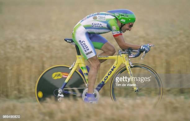 Cycling Tour De France 2000Escartin Fernando Prologue Etape 1Futuroscope Cyclisme Wielrennen Cyclingtdf Iso Sport Tour De France 2000Tour De France...