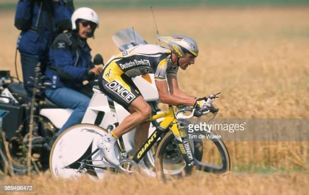 Cycling Tour De France 2000Jalabert Laurent Action Prologue Etape1 Futuroscope Cyclisme Wielrennen Cyclingtdf Iso Sport Tour De France 2000Tour De...